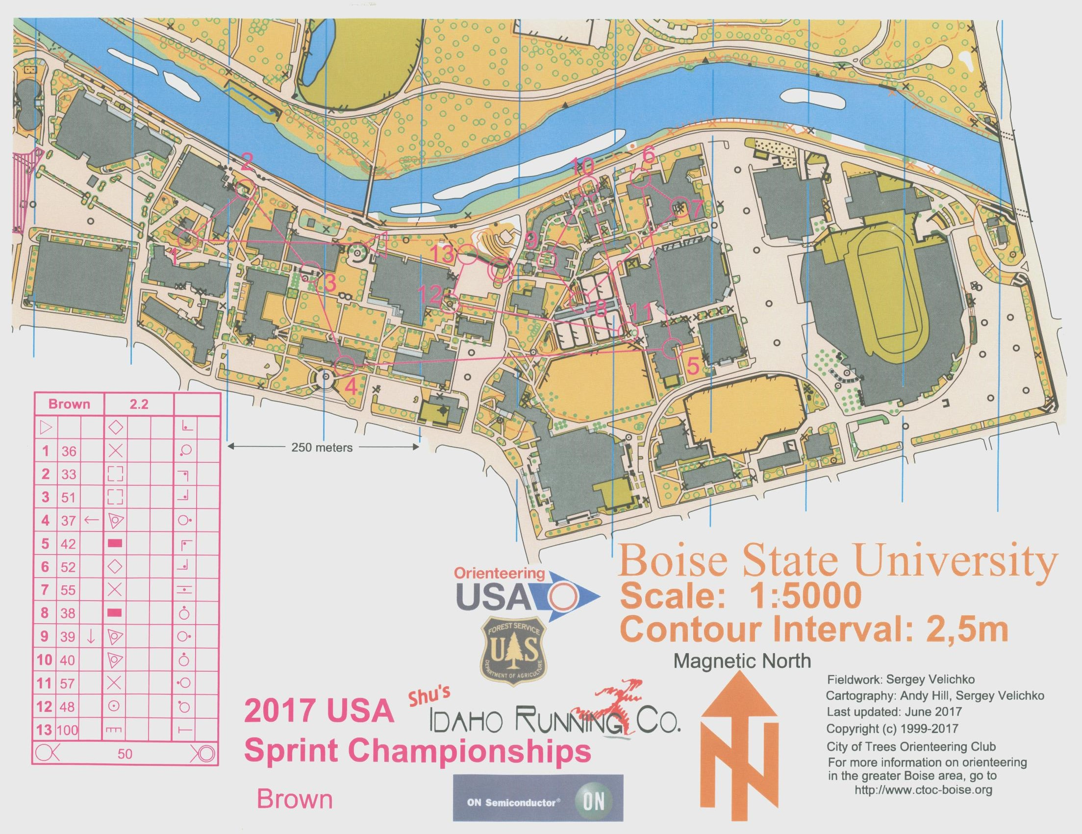 US Champs Brown Sprint (24/06/2017)