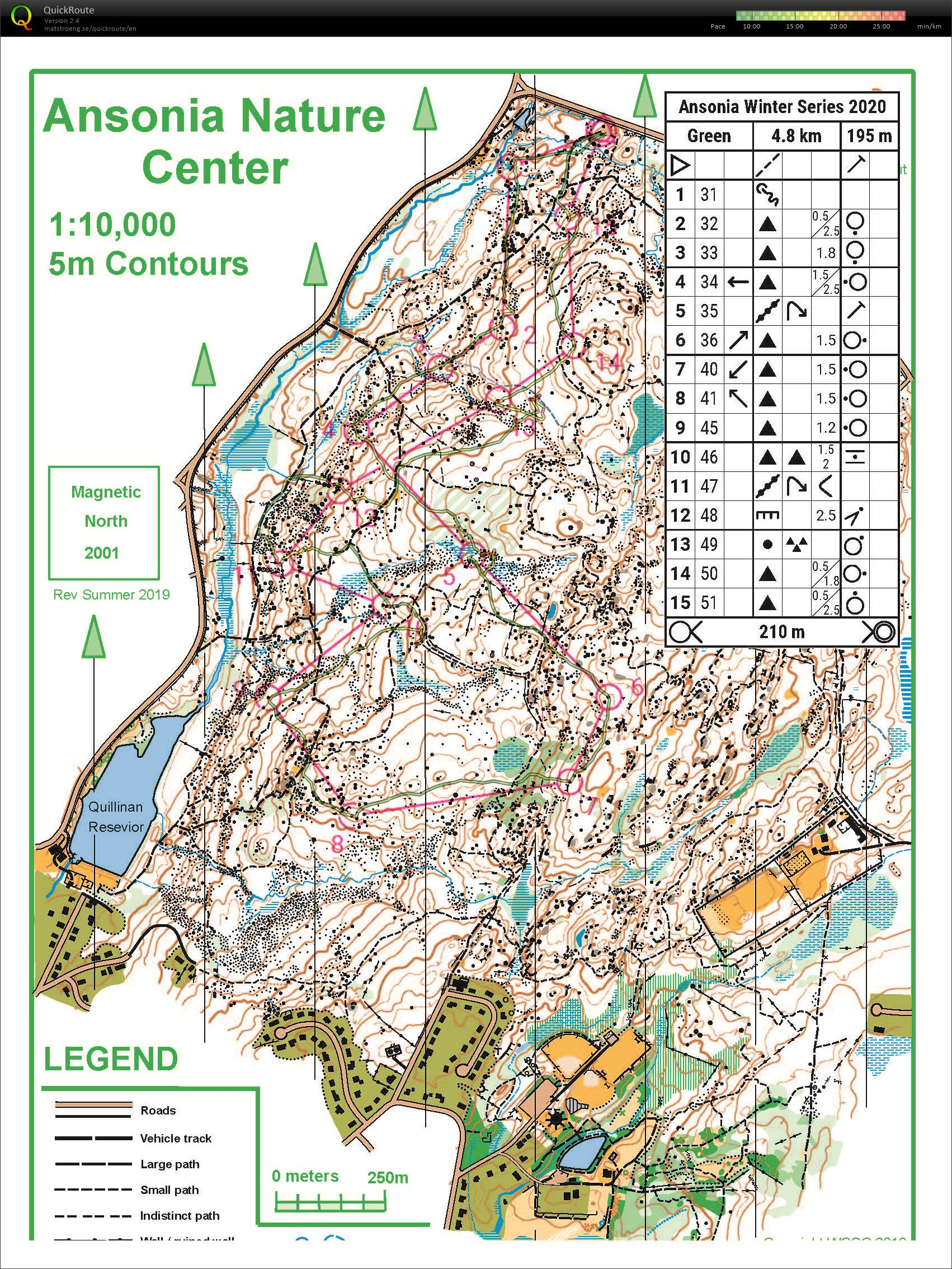 HVO-WCOC Winter Training #6 Green (08/03/2020)